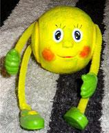 Tennisball mit Gesicht