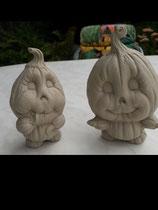 2 Kürbiskinder Cleo & Max