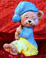 Teddy mit Nachtmütze