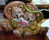 2 Teddy mit Herz