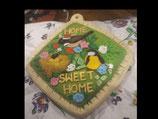 Topflappen Sweet Home