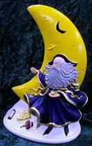 Mond mit Merlin