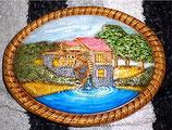 Plakette Wassermühle