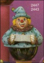 Clownspieluhr Oberteil