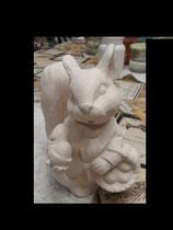 Eichhörnchen Luisa mit Korb