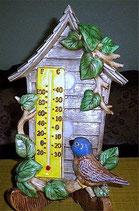 Thermometer Vogelhaus