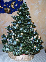 Christbaum mit Pins