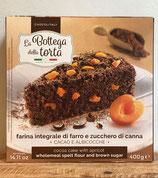 Kakao und Aprikosenkuchen - Chocolitaly