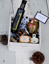 Merci Bouquet con caja gourmet