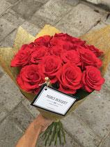 Merci Bouquet  rosas rojas + Cava Juve & Camps
