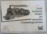 Eisenbahngeschichte - Farbdrucke (einzeln oder das Set)