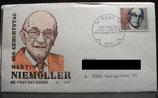 BD 1584 FDC Martin Niemöller