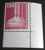 Bund 1135  130 Pf   I+T ERur mit Formnummer