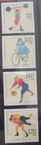 Bund 1499ff Sportmarken 1991