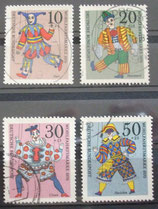 Bund 0650ff Wohlfahrtsmarken 1970 Marionetten