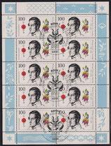 Bund 1842 KLB 100 Pf   200. Geburtstag von Philipp Franz von Siebold