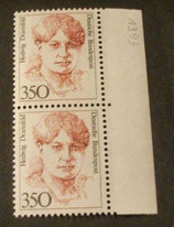 Bund 1393 Hedwig Dransfeld 350 Pf