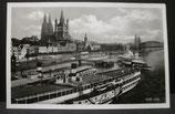 AK Köln - Rheinsicht auf Köln ng