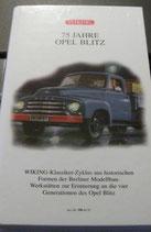 75 Jahre Opel Blitz in Videohülle SET
