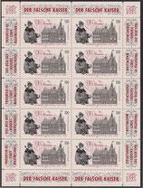 Bund 1773 KLB 100 Pf Wormser Reichstag  mit Zudruck