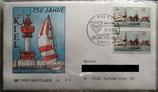 BD 1598 FDC ESST Kiel  750 Jahre Kiel