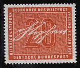 Bund 0227 125. Geburtstag Heinrich von Stephan