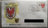 BD 1589 FDC Wappen Brandenburg