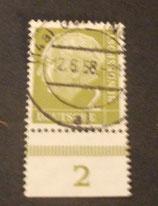 Bund 0177 - 2 Pfg   gest.