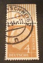 Bund 0178 -  4 Pfg  gest.