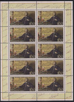 Bund 1828 KLB 100 Pf   100 Jahre Alfred-Nobel-Testament