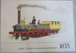 1835 - Adler Lok der ersten deutschen Eisenbahn