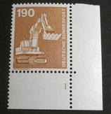 Bund 1136  190 Pf   I+T ERur mit Formnummer