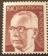Bund 0732 Heinemann 190 Pf