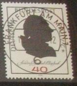 Bund 0809  VSST FFM 250. Geburtstag Friedrich Gottlieb Klopstock