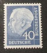 Bund 0260xv 40 Pf Heuss II