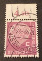 Bund 0179 -  5 Pfg   gest.