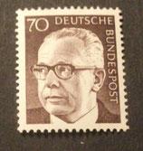 Bund 0641 Heinemann  70 Pf