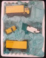 Postfahrzeuge - Koffer LKW mit Anhänger - VW Golf und VW T4 Postbank