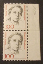 Bund 1390 Therese Giehse  100 Pf
