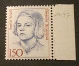 Bund 1497 Sophie Scholl  150 Pf