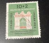Bund 0171  IFRABA  1953 10 +2 Pf gest.