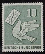 Bund 0247 10 Pf Tag der Briefmarke 1956