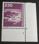 Bund 0994  230 Pf   I+T ERur mit Formnummer