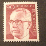 Bund 0643 Heinemann  90 Pf