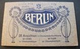 AK Berlin - in sehr altem Abrissblock - 19 von 20 Karten noch im Booklet