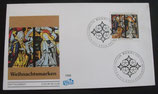 BD 1831f FDC Fidacos Weihnachten 1995 2 Kuverts