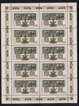 Bund 1786 KLB 80 Pf   750 Jahre Regensburg