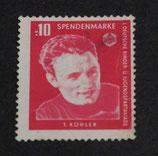 Spendenmarke 0.10 DDR - 1. KiJu-Spartakiade