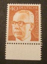 Bund 0639 Heinemann  40 Pf