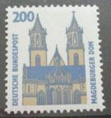 Bund 1665 200 Pf Magdeburger Dom